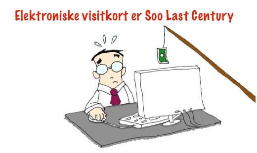 Er din hjemmeside blot et elektronisk visitkort?