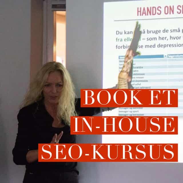 SEO-kursus lær at skrive SEO-tekst