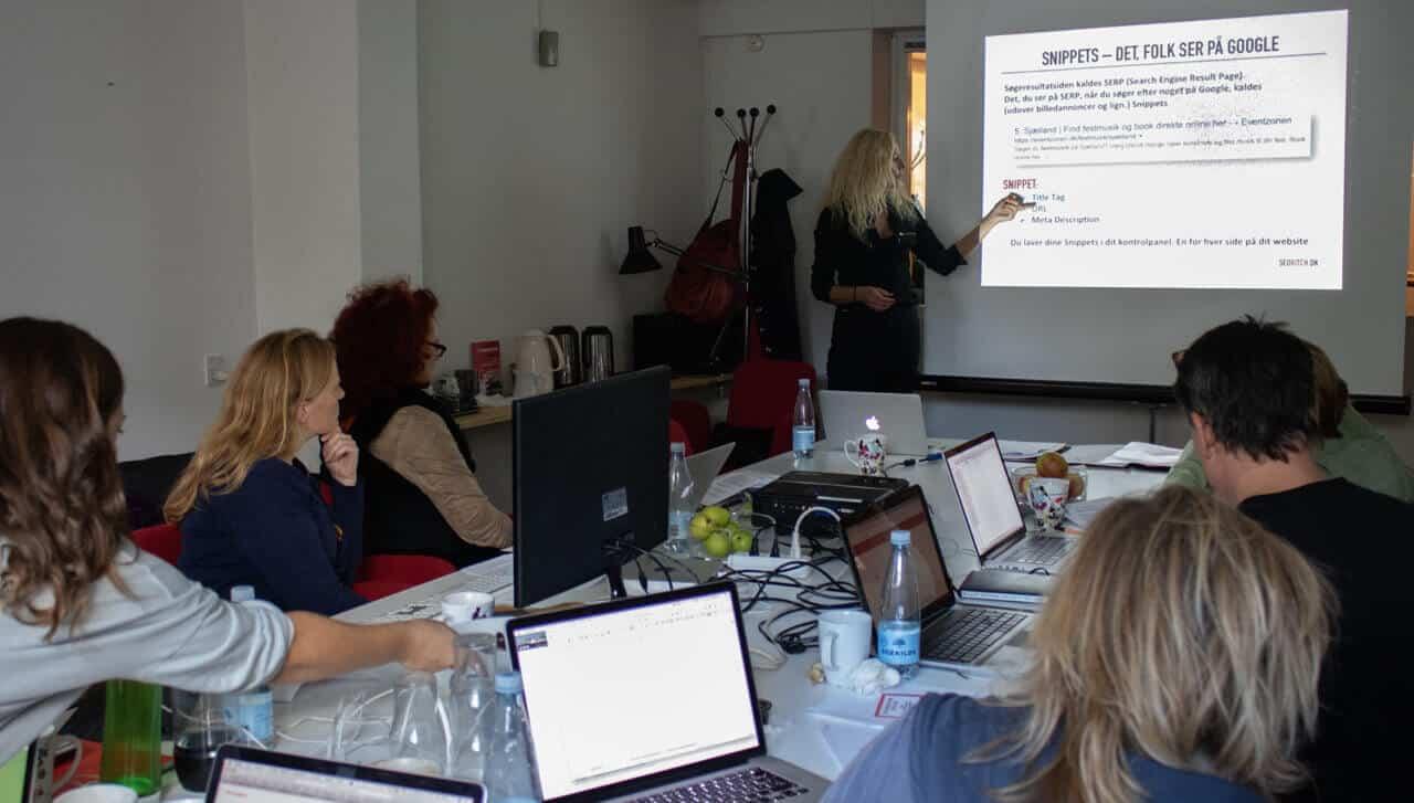 SEO-tekst kursus for virksomheder og organisationer